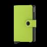 Secrid Mini Wallet Portemonnee Yard Lime